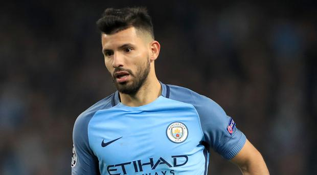 Sergio Aguero is reportedly a Real Madrid target
