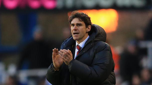 Aitor Karanka is relishing his side's trip to Manchester City this weekend