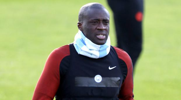 Yaya Toure is hoping to end his exile