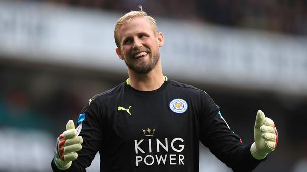 Leicester City goalkeeper Kasper Schmeichel has had a hand operation