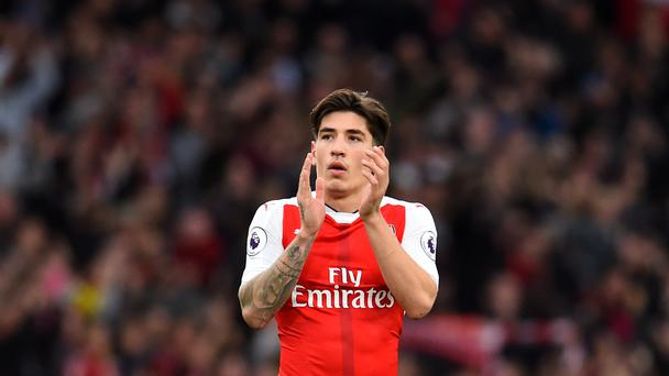 Hector Bellerin says he sees his future at Arsenal