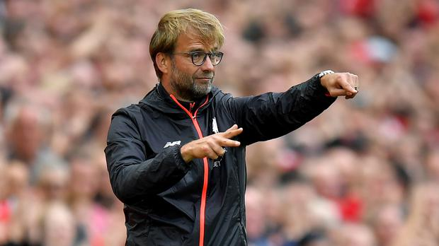 Jurgen Klopp does not want Liverpool's standards to slip
