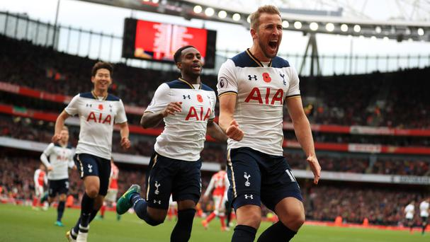 There were celebrations for Harry Kane on his Tottenham return