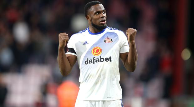 Victor Anichebe helped Sunderland to their first win of the season at Bournemouth