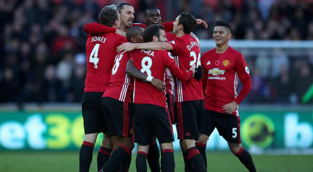 Manchester United lead all teams in Premier League goals, having scored the 25,000th in the competition's history