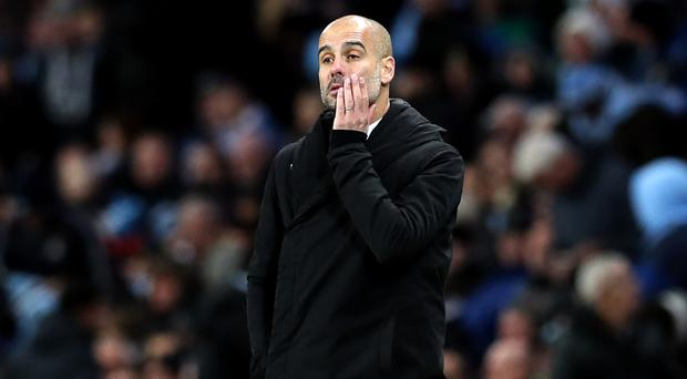 Pep Guardiola's Manchester City were frustrated by Middlesbrough