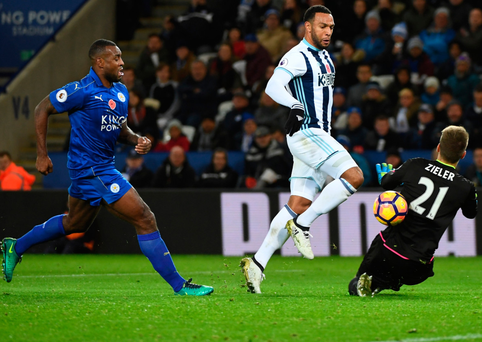 Winner: Matt Phillips nets the deciding goal for West Brom