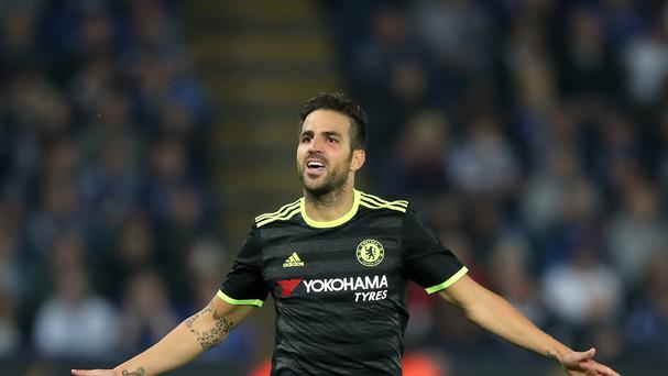 Chelsea's Cesc Fabregas could be heading to West Ham on loan, according to reports