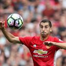 Henrikh Mkhitaryan has endured a frustrating start to life at Manchester United