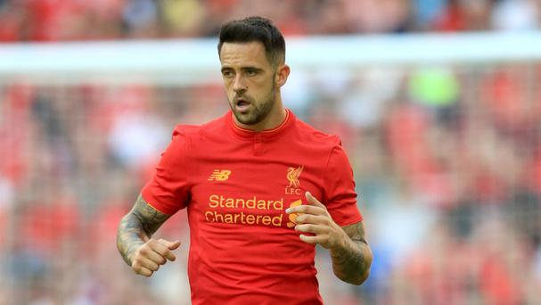 Liverpool striker Danny Ings has begun his rehabilitation after knee surgery