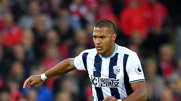 Salomon Rondon has scored three goals this season for West Brom