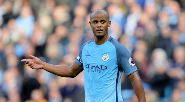 Vincent Kompany missed Belgium's 1-1 friendly draw with Holland