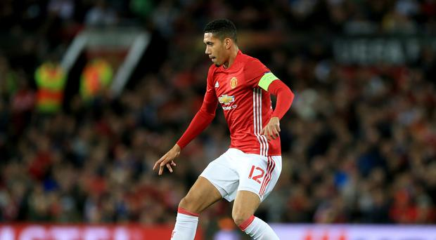 Manchester United's Chris Smalling has reportedly broken his toe