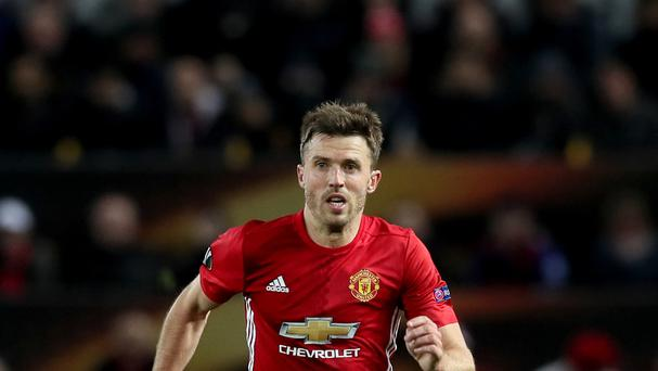 Michael Carrick has started only once in the Premier League this season.