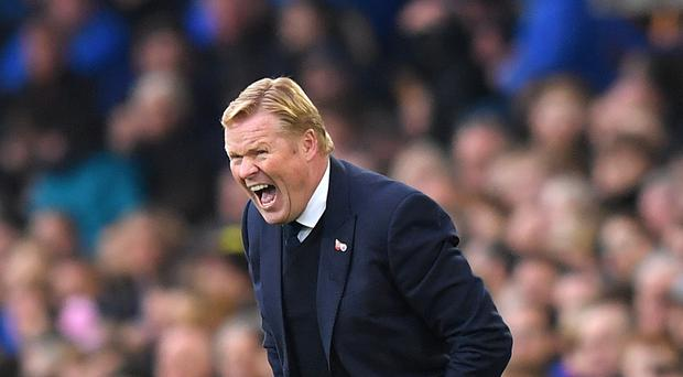 Ronald Koeman's Everton were thrashed 5-0 at Chelsea in their last outing.