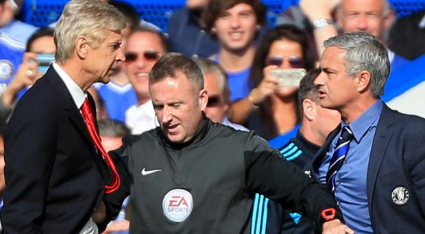 Arsene Wenger has not beaten Jose Mourinho in 11 Premier League matches