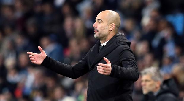 Pep Guardiola has joked that his players might benefit from having more sex