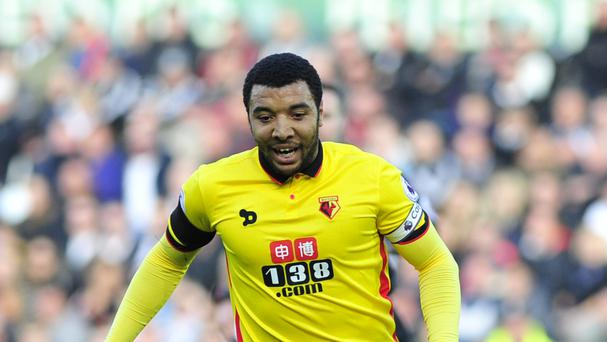 Watford striker Troy Deeney was a Leicester target in the summer.