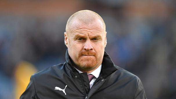 Sean Dyche has told his Burnley players to beware rising expectations