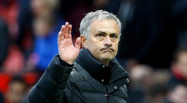 Manchester United manager Jose Mourinho saw his side concede a late equaliser