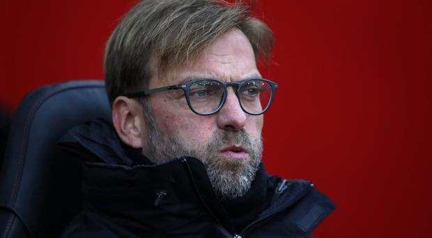 Liverpool manager Jurgen Klopp saw his side held