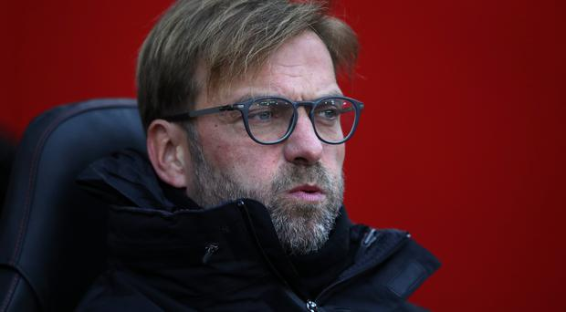 Jurgen Klopp's Liverpool were held to a 0-0 draw at Southampton