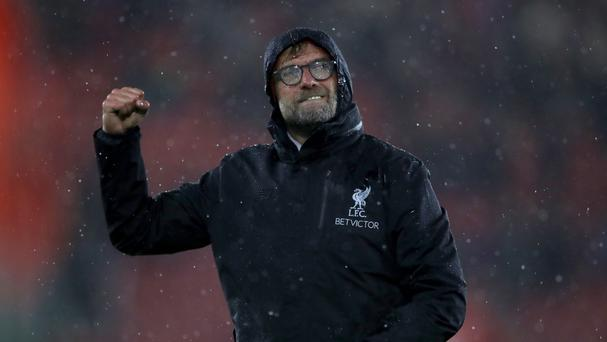 Jurgen Klopp guided his Liverpool side to a goalless draw at Southampton.