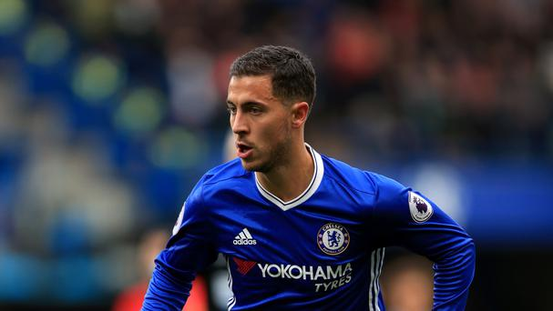Chelsea's Eden Hazard (pictured) is thriving after buying into Antonio Conte's vision