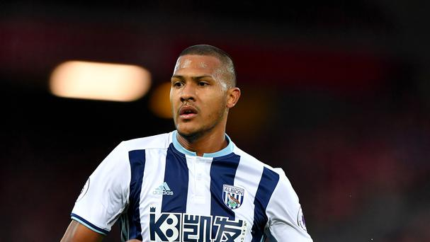 Striker Salomon Rondon has scored three goals for West Brom this season.