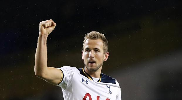 Harry Kane scored twice in Tottenham's 3-2 win over West Ham.