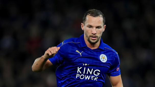 Leicester midfielder Danny Drinkwater had to pull out of the last England squad with a rib injury
