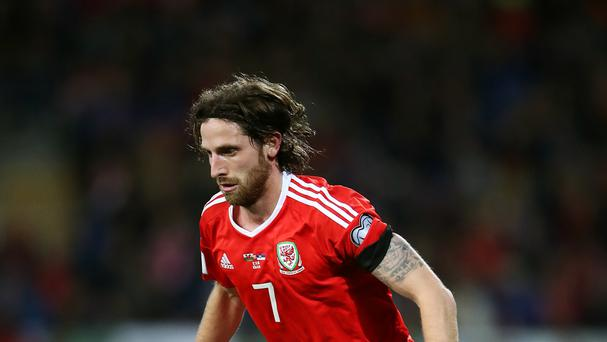 Wales' Joe Allen is among the 40 nominations for UEFA's Team of the Year poll