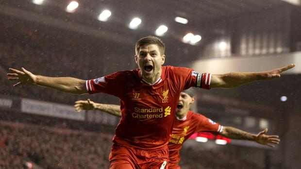 Steven Gerrard, arguably the most influential English player of his generation.