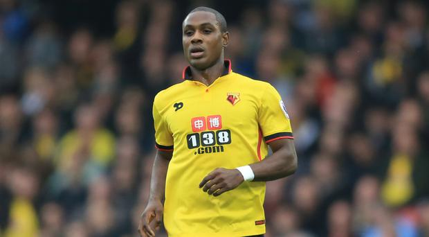 Odion Ighalo only has one Premier League goal to his name this season