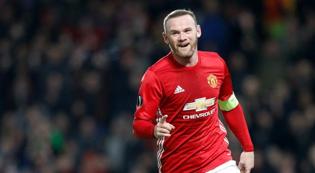Wayne Rooney is one goal behind Manchester United's all-time top-scorer Sir Bobby Charlton's record