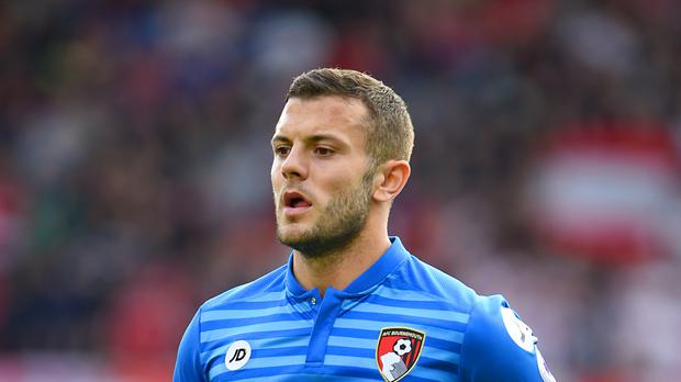 On loan midfielder Jack Wilshere will not be able to place for Bournemouth against parent club Arsenal