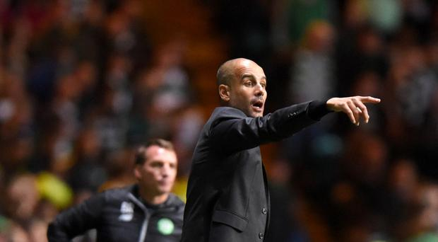 Manchester City manager Pep Guardiola is preparing for the challenge of Burnley this weekend