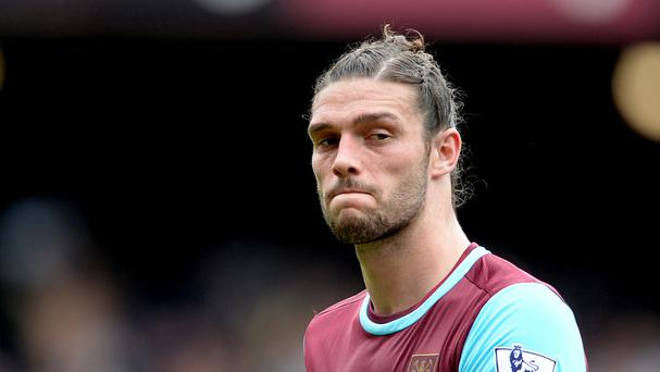 Andy Carroll has been out for three months with a knee injury