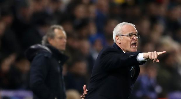 Leicester manager Claudio Ranieri is not happy with the champions' position two points above the Premier League relegation zone.