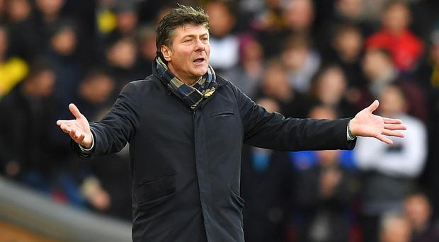 Watford manager Walter Mazzarri has guided the Hornets to eighth place in the Premier League