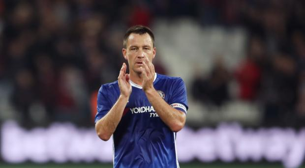 Chelsea's John Terry says he can have no complaints about not being selected in recent weeks