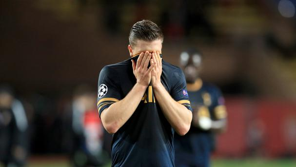 Kevin Wimmer struggled against Chelsea