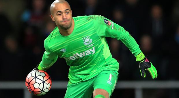 Darren Randolph has the chance to prove he can be West Ham's first-choice goalkeeper