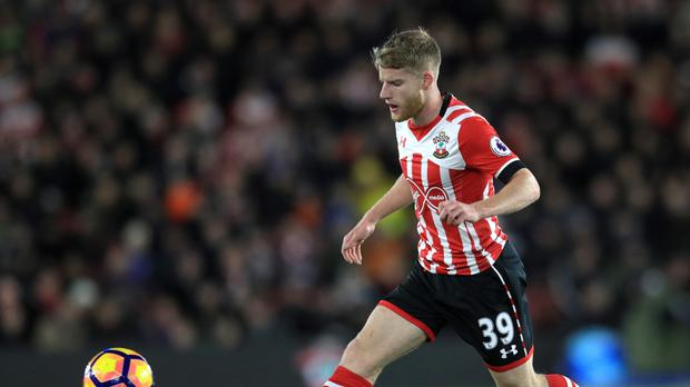 Josh Sims produced a man-of-the-match performance on his Southampton debut against Everton