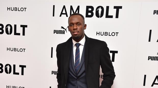 Usain Bolt attending the 'I Am Bolt' World Premiere at Odeon Leicester Square, London.