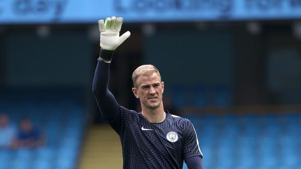 Joe Hart (pictured) moved to Torino on loan after Pep Guardiola's appointment as Manchester City boss over the summer.