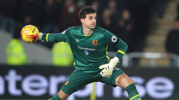 Eldin Jakupovic could be back among the substitutes on Monday