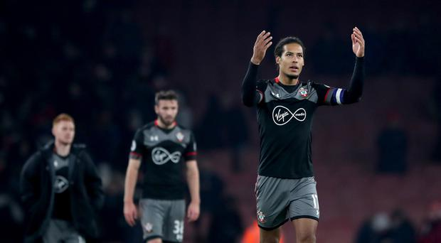 Virgil van Dijk is consistently among Southampton's finest performers