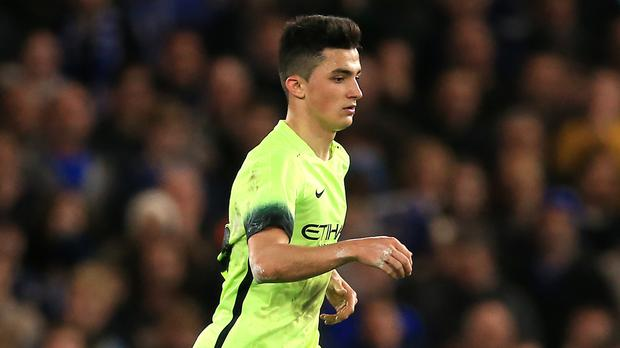 Manu Garcia is on loan at Alaves from Manchester City this season.