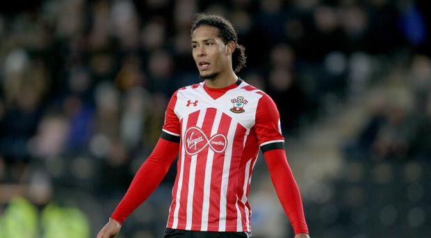 Southampton's Virgil van Dijk is reportedly a target for Manchester City